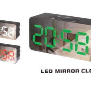 pazari4all.gr-Mini LED ρολόι ξυπνητήρι καθρέφτης DS-3658L