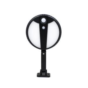 pazari4all.gr-Ηλιακό Επιτοίχιο Φωτιστικό LED 2835 SMD με Τηλεχειρισμό & Υπέρυθρο Αισθητήρα LQ-GY039 – Μαύρο