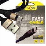 pazari4all.gr-Καλώδιο υψηλής ποιότητας KLGO S-89 USB σε Type-c