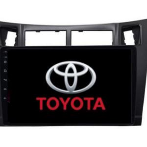 pazari4all.gr-Οθόνη multimedia 2din Toyota yaris με εργοστασιακό πλαίσιο 2008-2011.