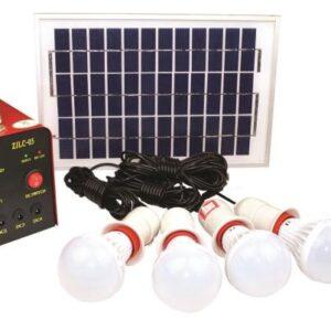 pazari4all.gr-Hλιακό σύστημα φωτισμού με 4 λάμπες.