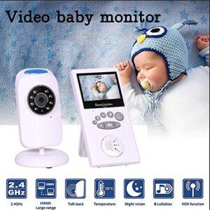 pazari4all.gr-Baby monitor Ασύρματο με οθόνη 2.4″ LCD Θερμοκρασία,μικρόφωνο night vision