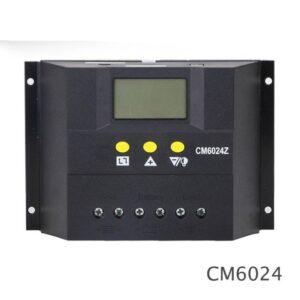 pazari4all.gr-Ηλιακός ρυθμιστής φόρτισης ηλιακής μπαταρίας CM6024 PWM 40A 50A 60A 12V / 24V | Οθόνη LCD