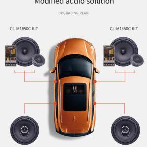 pazari4all.gr-Σετ Ηχεία ηχοσυστήματος αυτοκινήτου Carwales 6,5 ιντσών ομοαξονικό 2 κατευθύνσεων