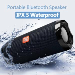 pazari4all.gr-Φορητό ηχείο Bluetooth 20W TG191 3D BoomBox Στερεοφωνικό ηχείο FM / TF / aux
