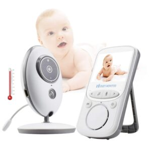 pazari4all.gr-Ασύρματο Baby monitor VB605 με οθόνη 2.4 LCD Θερμοκρασία
