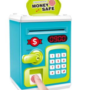 pazari4all.gr-Χρηματοκιβώτιο κουμπαράς χρημάτων με κωδικό και δακτυλικό αποτύπωμα