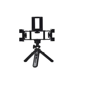 pazari4all.gr-Επιτραπέζια θήκη φωτογραφίας σε τρίποδο ραβδί για selfie με τηλεσκοπική ρυθμιζόμενη γωνία 3 θέσεων