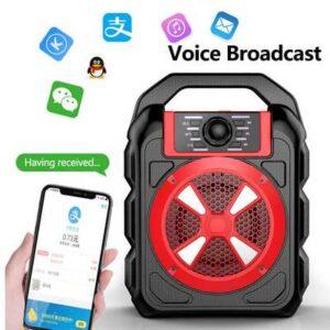 pazari4all.gr-Μεγάλο επαναφορτιζόμενο Bluetooth ηχείο Super Bass Ραδιο υποδοχή κάρτας και USB