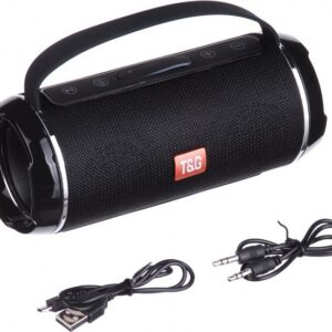 pazari4all.gr-Φορητό αδιάβροχο Ηχείο Bluetooth T&G TG-116 Μαύρο