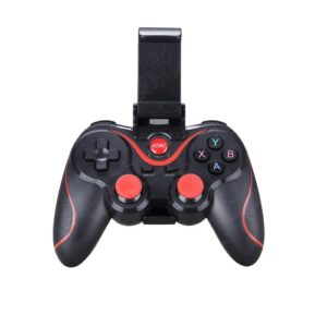 pazari4all.gr-X3 ασύρματο χειριστήριο παιχνιδιών Bluetooth με στήριξη Gamepad Υποστήριξη iOS / Android - Μαύρο