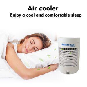 pazari4all.gr-Φορητό Κλιματιστικό Air Cooler Mini Cool Down - Ανεμιστήρας Υδρονέφωσης & Υγραντήρας με Τεχνολογία Εξάτμισης