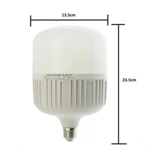 pazari4all.gr-Λάμπα LED E27 60W 220V 5400LM 6500K T135