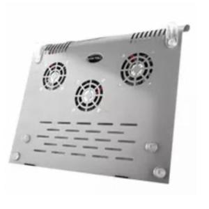 pazari4all.gr-Βάση στήριξης Notebook Cooler Pad για 12-15,4 ίντσες με τρεις ανεμιστήρες