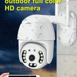 pazari4all.gr-CP08-10 10-LED HD 1080P Ασύρματη Απομακρυσμένη WiFi IP Κάμερα Webcam - US Plug