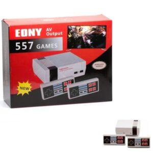 pazari4all.gr-Ρετρό παιχνιδομηχανή με 557 παιχνίδια και ασύρματα τηλεχειριστήρια EONY 557 GAMES