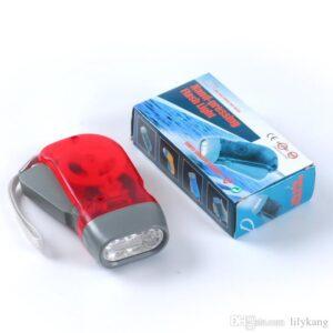 pazari4all.gr-Χειροκίνητος Φακός Χωρίς Μπαταρία με 3 LED