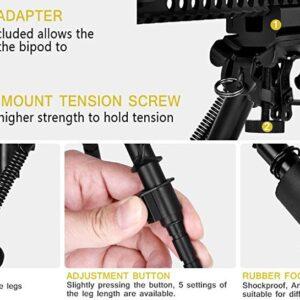 Πτυσσόμενο Δίποδο - Βάση Όπλου Airsoft Ράγας Picatinny 21 - 24 mm - Tactical Rifle Bipod Stand-pazari4all.gr