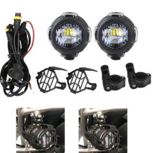 Σετ Universal Προβολείς Ομίχλης LED 40W για BMW K1600 R1200GS.