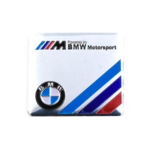 Αυτοκόλλητο Αλουμινίου M BMW Motorsport – Ασημί-pazari4all.gr