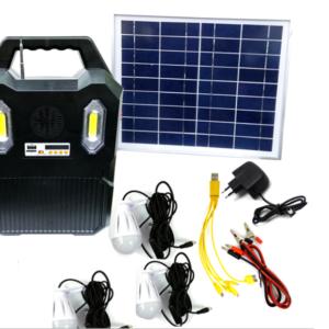 Ηλιακό σύστημα φωτισμού,φόρτισης και ραδιόφωνο ΑΤ-9078Α.-pazari4all.gr