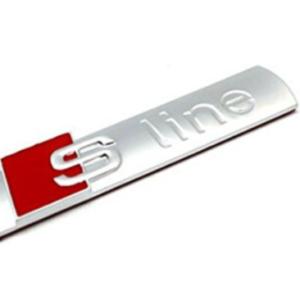 Αυτοκόλλητο αλουμινίου S line-pazari4all.gr