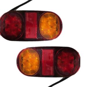 Σετ LED φανάρια όπισθεν πορείας στοπ και φλας 12V-24V.-pazari4all.gr