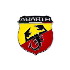 """Αυτοκόλλητο Αλουμινίου """"Abarth""""-Pazari4all.gr"""