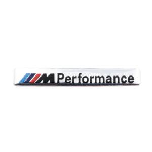 Αυτοκόλλητο Αλουμινίου M Performance – Ασημί- pazari4all.gr