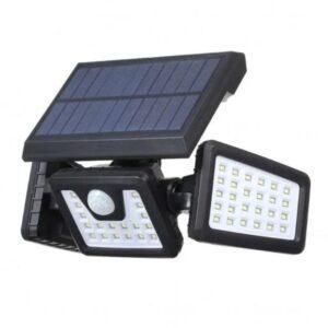 Τριπλός Ηλιακός Προβολέας με 70 LED και Ανιχνευτή Κίνησης 7W FL-1725A-pazari4all.gr