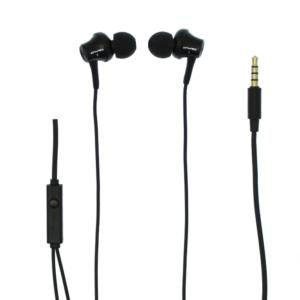 Ακουστικά handsfree 3.5mm jack 1.2m μαύρα Awei-pazari4all.gr