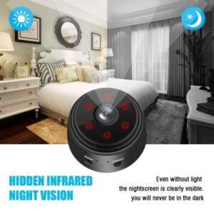 Mini Ασύρματη IP WiFi Κρυφή Κάμερα 720p HD με Μπαταρία, Μαγνητική Βάση, Νυχτερινή Λήψη, Ανιχνευτή Κίνησης, & Μικρόφωνο-pazari4all.gr