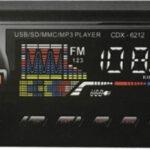 MP3 Player Αυτοκινήτου με USB/SD/FM/ CDX-6212-pazari4all.gr