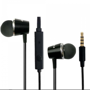 Ακουστικά handsfree 3.5mm jack μαύρα PC-2 Awei-pazari4all.gr