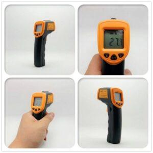 Θερμόμετρο Υπερύθρων Χειρός Lasergrip AR-360.-pazari4all.gr