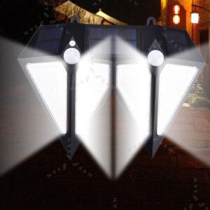 Εξωτερικός Ηλιακός Προβολέας με 3 λειτουργίες φωτισμού.-pazari4all.gr