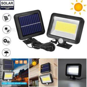 LED COB Solar Light Φωτιστικό τοίχου εξωτερικού χώρου OEM.-pazari4all.gr