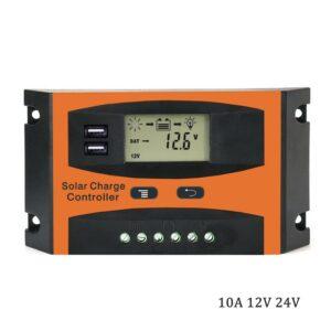 Ρυθμιστής φόρτισης μπαταριών 10A PWM 12V/24V-pazari4all.gr