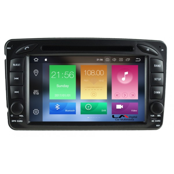 OEM MERCEDES C (W203) - CLK (W208) mod. 1999-2003 IPS MONITOR / ANDROID 10