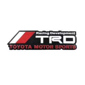 pazari4all.gr-Αυτοκόλλητο Αλουμινίου TRD Racing Developement