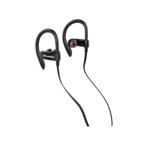 Awei αθλητικά ακουστικά es-160i μαύρα-pazari4all.gr