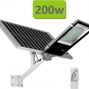 Αυτόνομο Ηλιακό Σύστημα Εξωτερικού Φωτισμού LED 200w με Τηλεχειριστήριο FO-6200-pazari4all.gr