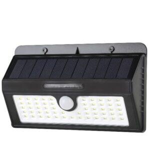 Αδιάβροχο Ηλιακό Φωτιστικό με Ανιχνευτή Κίνησης Solar Led Light 55led.-pazari4all.gr