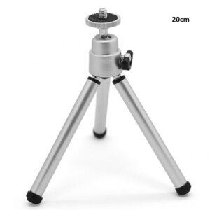 pazari4all.gr-Mini Τρίποδο Κάμερας Ή Φωτογραφικής Μηχανής Με Ρυθμιζόμενο Ύψος Εως 20Cm