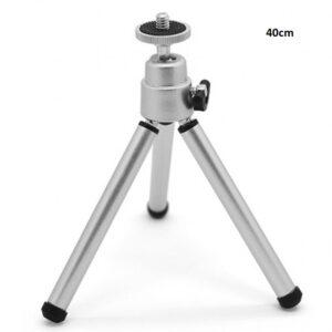 pazari4all.gr-Mini Τρίποδο Κάμερας Ή Φωτογραφικής Μηχανής Με Ρυθμιζόμενο Ύψος Εως 40Cm
