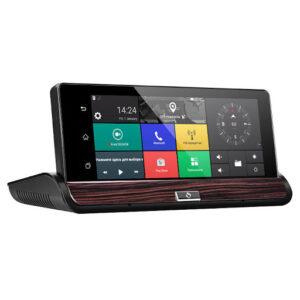"pazari4all.gr-Κάμερα αυτοκινήτου Full HD 1080P με οπίσθιο καθρέφτη Wifi 3G και GPS Navigation 7 ""Android Dash Camera"