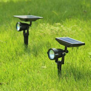 pazari4all.gr-Ηλιακό Φωτιστικό Κήπου Led 10W