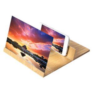 pazari4all.gr-Universal Πτυσσόμενη Βάση 3D Video Mobile Phone Screen Magnifier 12.0 inch