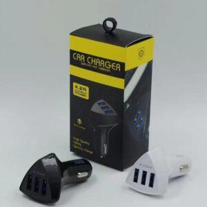 pazari4all.gr-Φορτιστής αυτοκινήτου 3 USB 5V / 3.1A