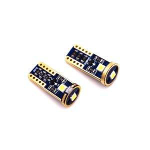 LED t10 με 3 smd Full Can Bus 2 τεμάχια.-pazari4all.gr